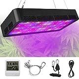 Best Indoor Grow Lights - LED Grow Light, Honesorn 600W Full Spectrum Growing Review