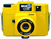 Holga 309120 Holga HOLGAGLO 120N Glow In The Dark Cameras (Solar Yellow)