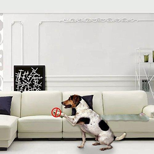 penobon Pet Training Mat, Shock Mats for Cats Dogs Keeping Cats Dogs Off Furniture Counter Sofa, Indoor Outdoor Scat Pet…