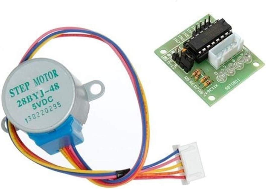 Share to 5Pcs DC 5V 4 Phase 5 Wire Stepper Motor with ULN2003 Driver Board Power Module