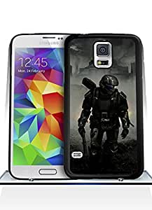 Galaxy S5 Funda Case Game Halo3 Solid Anti Slip Customized Impact Resistant Ultra Slim Compatible with Samsung Galaxy S5 i9600