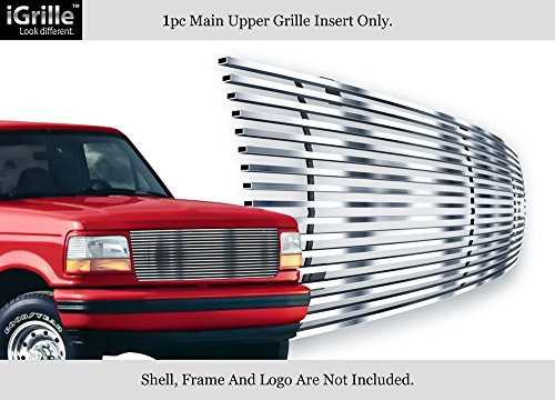 Fits 92-96 Ford Bronco/F-150/F-250/F-350 Stainless Steel T304 Billet Grille Grill #N19-C70058F