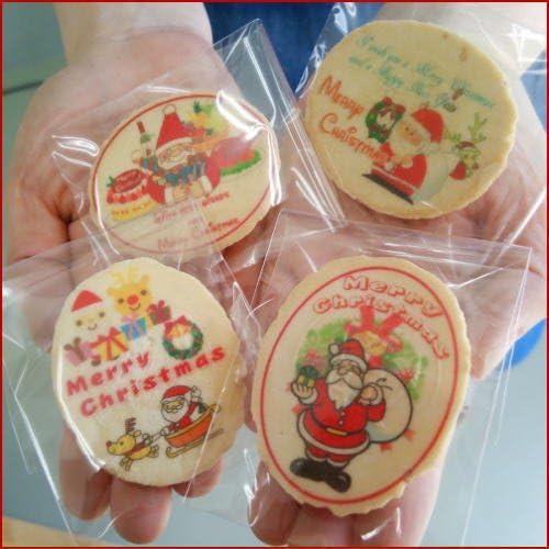 サンタさんのクリスマス塩バター小判せんべい-ピロ個装タイプ