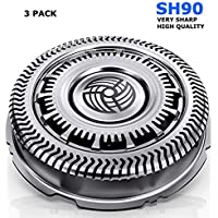 Easy Seller Sh90 Blades Compatible with Philips Norelco Shaver Replacement Heads Series 9000
