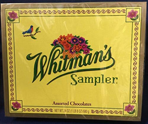 Whitman's Sampler Assorted Chocolates 12-oz. Box