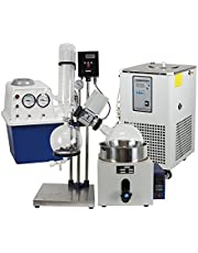 lab1st 5L Rotary Evaporator Hand Lifting Turnkey Package w/Water Vacuum Pump &Chiller
