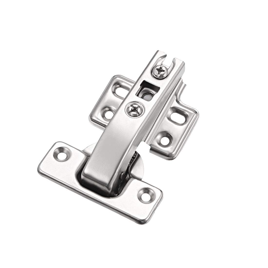 uxcell/® 90 Degree Hinges Double Cabinet Hidden Kitchen Buffering Angle Folding Door Hinge
