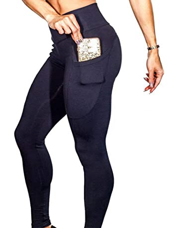 cf90392c62574 BANAA Women Leggings with Pocket, Workout Out Sweatpants Fitness Sports  Harem Pants Gym Running Yoga