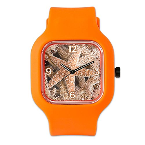 Collection Watch Star Ladies Marine (Orange Fashion Sport Watch Collection Of Starfish)