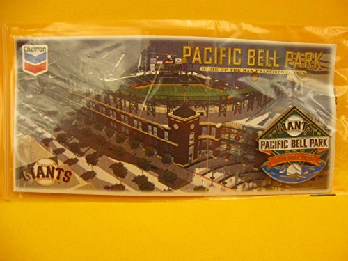 2000 SGA San Francisco Giants - Pacific Bell Park Inaugural Year Pin Card by Lefty's Sports Cards & Memoribilia