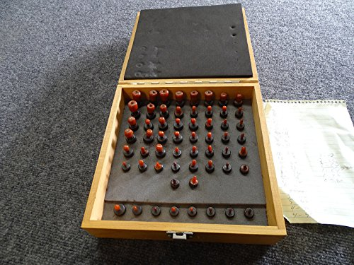 48 Piece Kit SG Co. Threaded Tapped Hole Location Gage Gauge 0-80 to 1/2-20 by SG Company