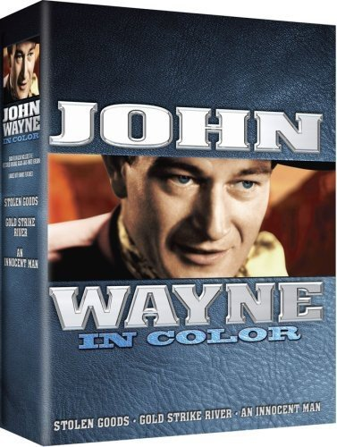 John Wayne Movie 3-pk #2 - All 3 Movies are In COLOR! Also Includes the Original Black-and-White Versions which have been Beautifully Restored and Enhanced!