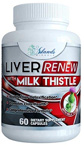 Milk Thistle Liver Detox Cleanse