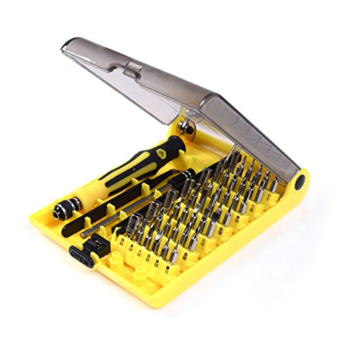 New Flexible Kit Phone Mobile 45 in 1 Torx Precision Screwdrivers Repair Tool (One Tool Torque Ball)