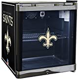 Glaros Officially Licensed NFL Beverage Center / Refrigerator - New Orleans Saints