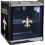 Glaros Officially Licensed NFL Beverage Center / Refrigerator - New Orleans Saints