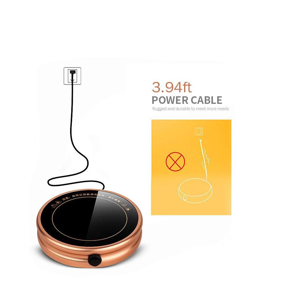 Mug Warmer, Desktop Heated Coffee & Tea - Candle & Wax Warmer by ESCAOR (Image #3)
