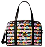 Luv Betsey Women's Cruisn Quilted Weekender Flowered Luggage