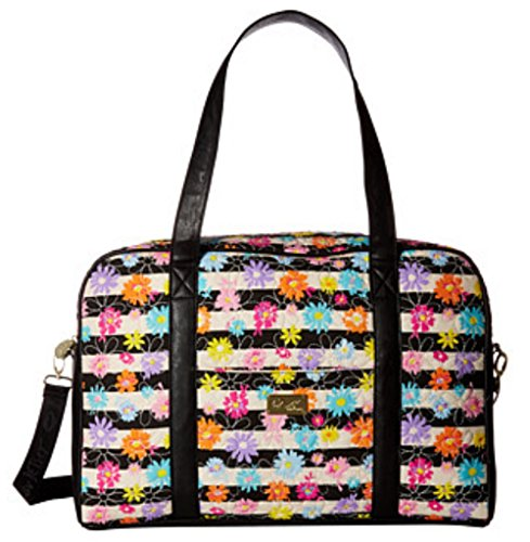 Luv Betsey Women's Cruisn Quilted Weekender Flowered Luggage by Luv Betsey