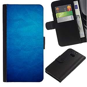 HTC One M8 Modelo colorido cuero carpeta tirón caso cubierta piel Holster Funda protección - Paper Wallpaper Pattern Shadow Dark