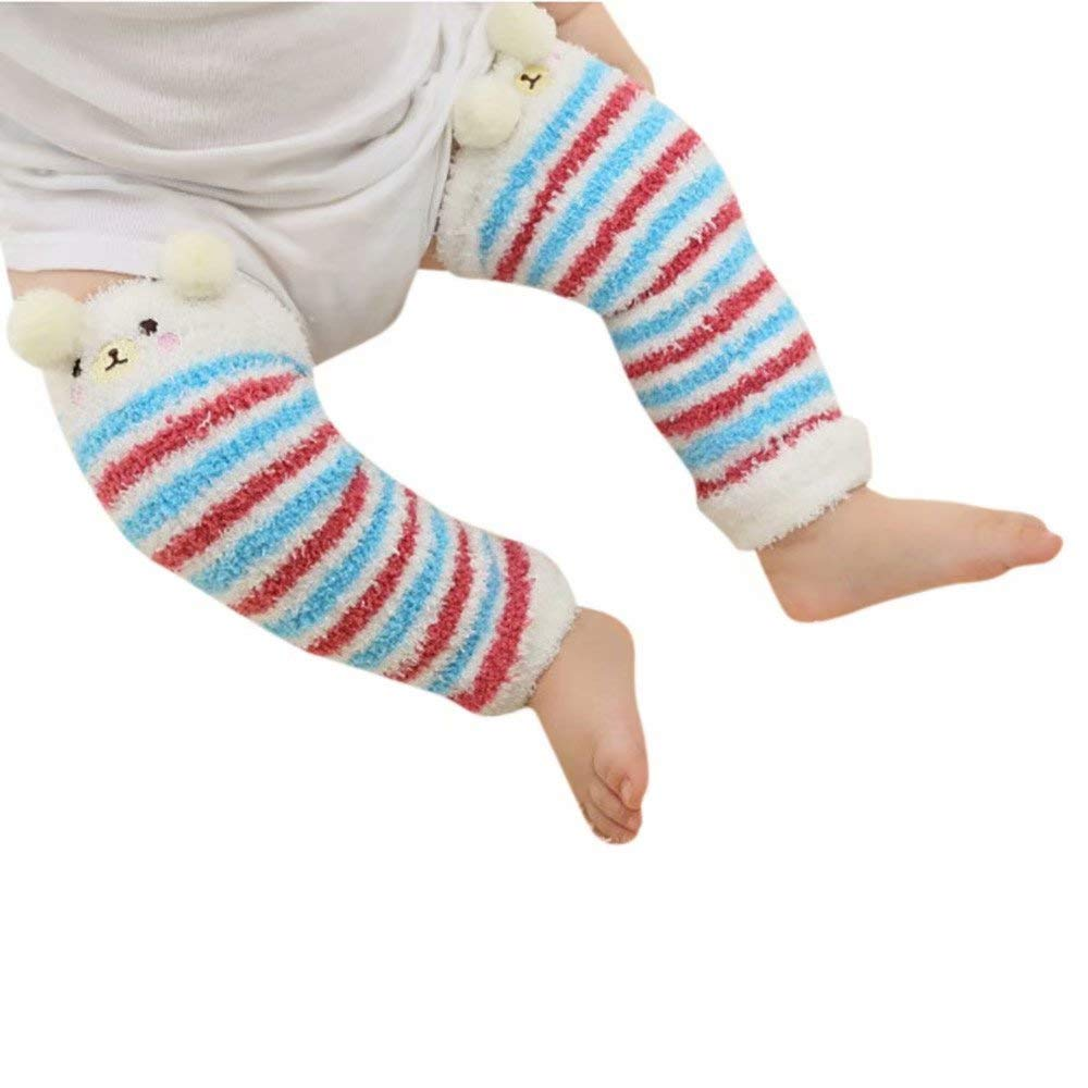 Children's Stockings Baby Winter Warm Knitted Cuff Sock Short Leg Warmer Sinzelimin