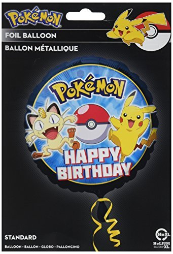 HX Pokemon Happy Birthday-Pkg by Anagram International