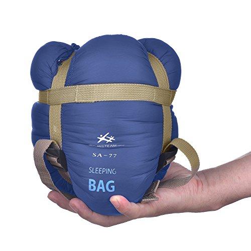 Agemore Envelope Outdoor Sleeping Bag Camping Travel Hiking Multifuntion...