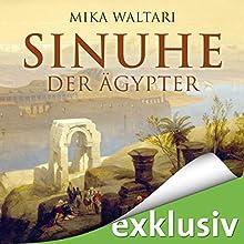 Sinuhe der Ägypter Hörbuch von Mika Waltari Gesprochen von: Stefan Kaminski