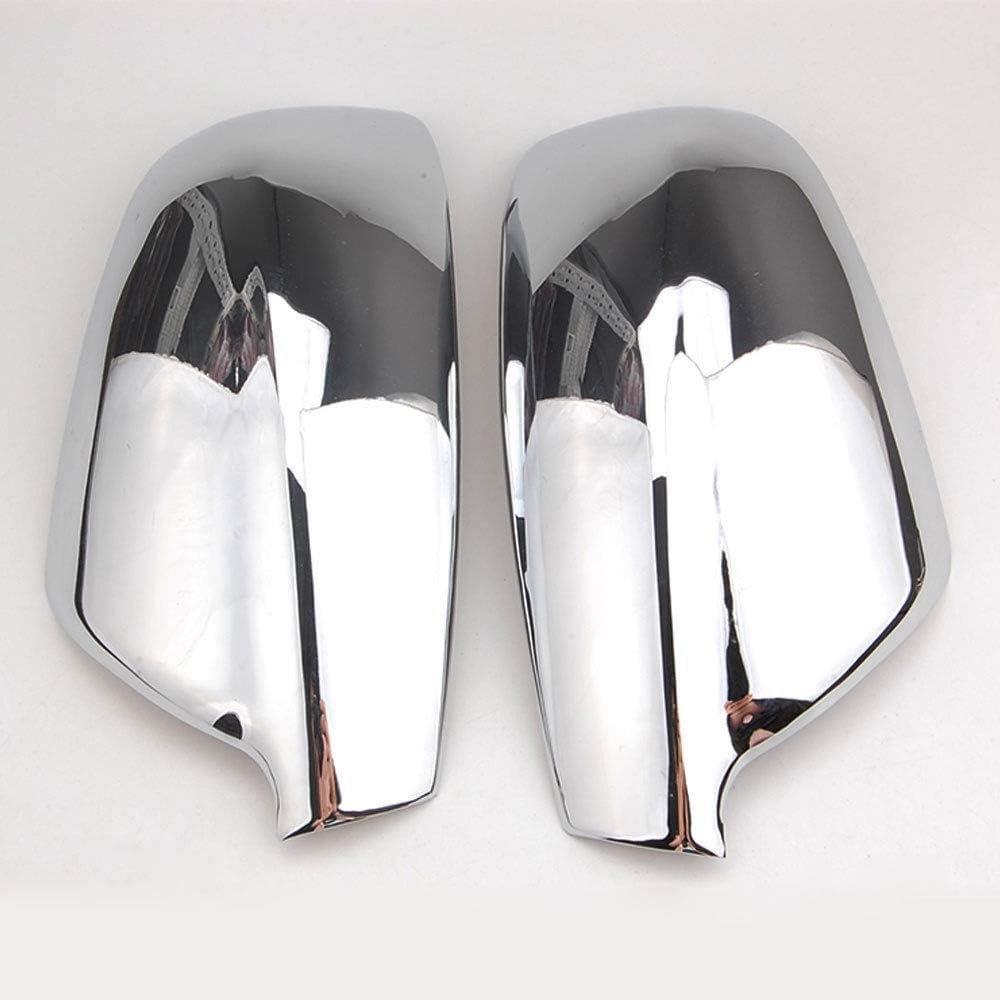 BGGPX Car Door Side Wing Mirror Rear View Cap Cover Trim Car Rear View Mirror Cover//Fit For Peugeot 307 CC SW 407 2004~2008