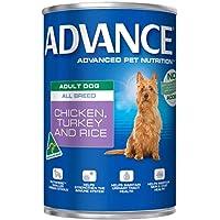 ADVANCE Dog Adult All Breed Chicken Turkey Rice 12X410G (DA410AABCTRX12)