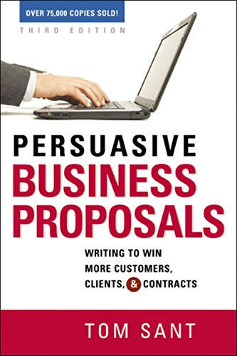Writing a winning proposal has always been an important part of sales. In recent years it has become vital. But many companies are still cranking out confusing, unpersuasive proposals and RFPs-few of which result in new clients or contracts. Now ever...