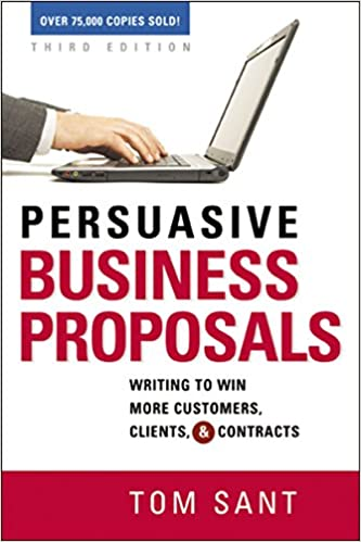 amazon persuasive business proposals writing to win more