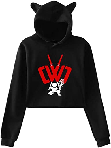 Teens Hoodies Chad Wild Clay Merch Clothes Youth Long Sleeve for Girls Pullover Cropped Sweatshirt