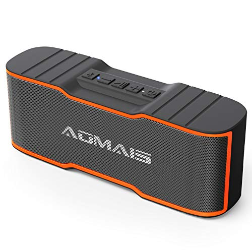 AOMAIS Sport II Mini Portable Bluetooth Speakers with 10W Superior Sound, Built-in Mic, Stereo Pairing, IPX4...