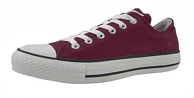 314c20fdf972 Converse All Star Men s Shoes Low top Spec Ox Cranberry Burgundy Sneakers  (11 D(