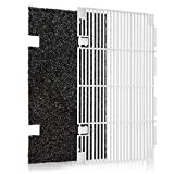 Kohree RV A/C Ducted Air Grille Duo-Therm AC Filter Cover for Dometic 3104928.019,RV Air Conditioner Grille Replacement Parts with Dometic AC Filter Pad, Ploar White