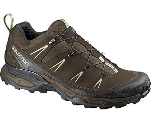 Salomon Men's X Ultra LTR Hiking Shoe, Burro/Absolute Brown-X/Beach, 8 D US
