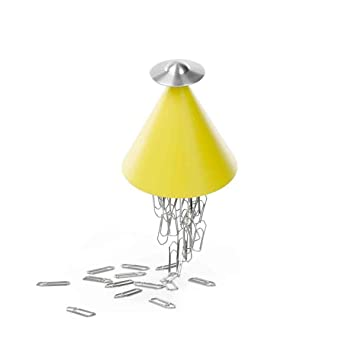 Amazon.com : Spettro Magnetic Paperclip Holder Color: Yellow ...