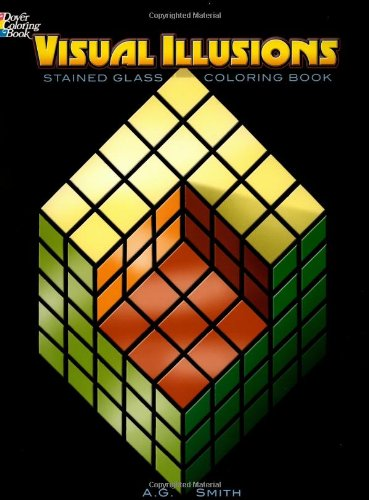 Read Online Visual Illusions Stained Glass Coloring Book (Dover Design Stained Glass Coloring Book) ebook