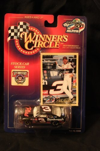 Winner's Circle Dale Earnhardt 1/64 #3 Daytona 500 40th Annual diecast and collector's trading card