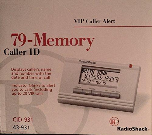(Radio Shack CID-931 79 Memory Caller Id)