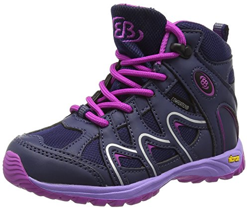 Bruetting Vision High Kids, Scarpe outdoor multisport bambine Blu Blau (lila) 28