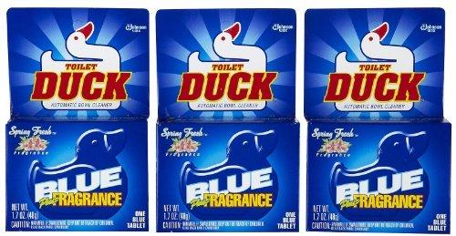 Toilet Duck Automatic Blue Single - 1.7 oz - 3 pk