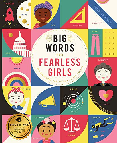 Big Words for Fearless Girls: 1,000 Big Words for Girls with Big Dreams (Word Hero)