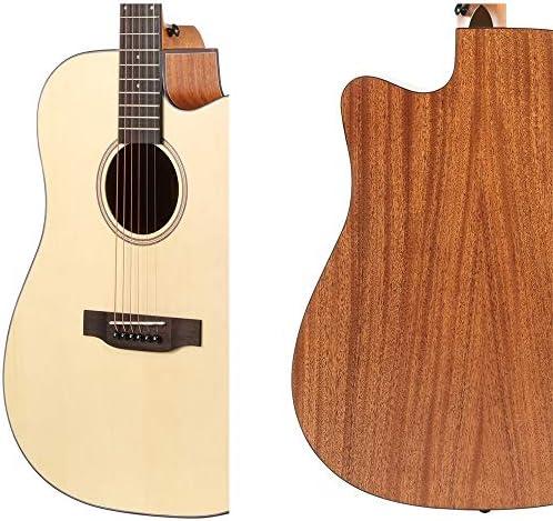 Loivrn Guitarra acústica de 41 pulgadas Principiante Guitarra ...
