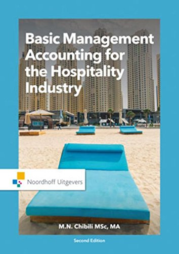 Basic Management Accounting for the Hospitality Industry