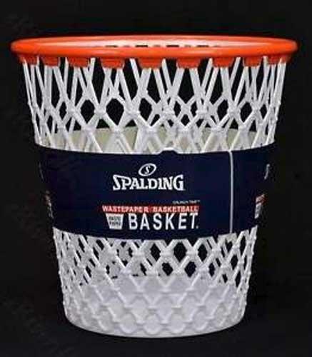 Spaulding Basketball Wastepaper Basket (Basketball Basket compare prices)