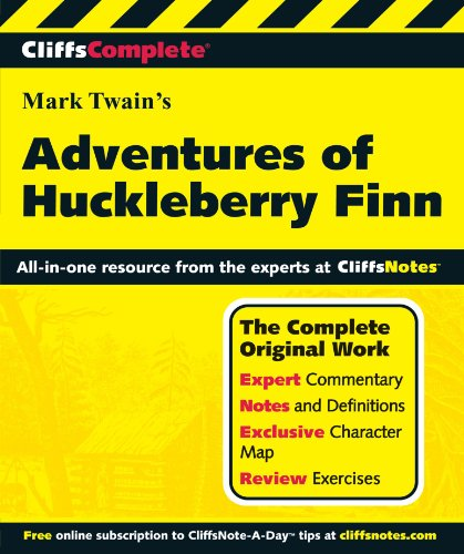 CliffsComplete The Adventures of Huckleberry Finn (Cliffs Complete Study Editions)