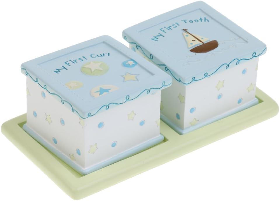 Magideal caja para Ratoncito Pérez la resina azul Mio Primer ...