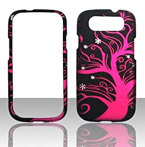 NADIA Magic Diy 2D HotPink Tree Samsung Galaxy S 3 III Sprint,Verizon, at&t XsJewH004AH case cover Hard cell phone case cover Snap-on Cover Rubberized Touch Faceplates